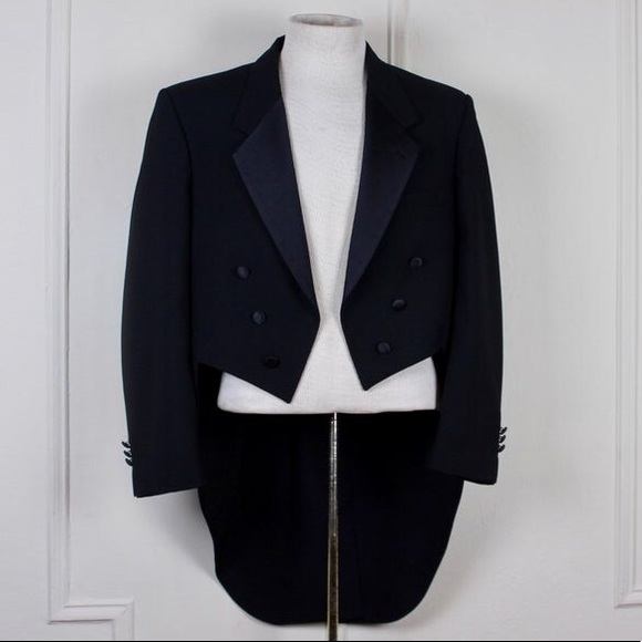 Dior Jackets & Blazers - Christian Dior Tuxedo Jacket with Tails